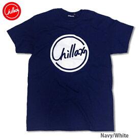 RHC Ron Herman (ロンハーマン): Chillax Circle ロゴ Tシャツ(ネイビー/ホワイト)
