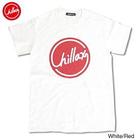 【売れ筋】RHC Ron Herman (ロンハーマン): Chillax Circle ロゴ Tシャツ(ホワイト/レッド)