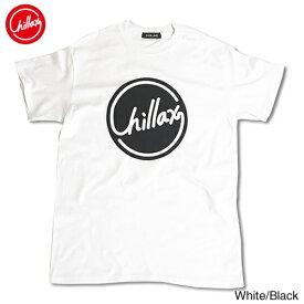 【売れ筋】RHC Ron Herman (ロンハーマン): Chillax Circle ロゴ Tシャツ(ホワイト/ブラック)