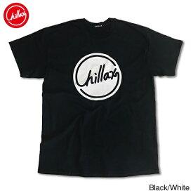 【売れ筋】RHC Ron Herman (ロンハーマン): Chillax Circle ロゴ Tシャツ(ブラック/ホワイト)