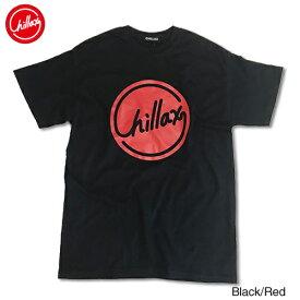 RHC Ron Herman (ロンハーマン): Chillax Circle ロゴ Tシャツ(ブラック/レッド)