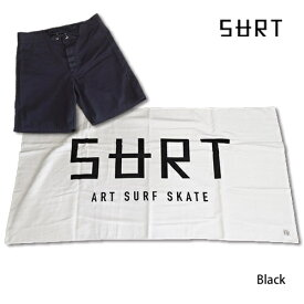 RHC Ron Herman (ロンハーマン): SURT サーフトランクス(ビーチタオル付き)SURF TRUNKS / Black