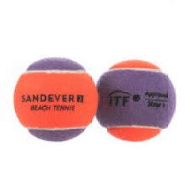Sandever ビーチテニスボール 2球パック パープル