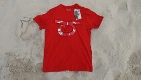 TOM CARUSO T SHIRT PACIFIC RED