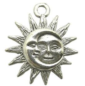 チャーム 太陽&三日月 T9-1