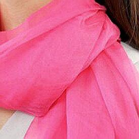 シルク100% ストール スカーフ シルク 100% シルクストール シルク 100%−20(ピンク)春夏ストール ストールレディース 薄手ストール 春夏スカーフ 薄手スカーフ 大判スカーフ
