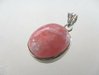 Incarose rhodochrosite pendant top OV (K)--31 in South America, Inca rose  Japan love Cupid symbolic prayer stone love stone road crocytoinka rose of