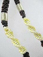 翡翠 ペンダント 翡翠 ネックレス制作用 アクセサリーパーツ ひもチェーン 縁結びで−41