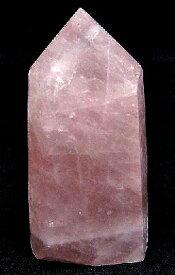 ローズクォーツ ポイント 天然石 ポイント 原石 ポイント−43 鉱物原石 ポイント 天然石 原石 ローズクォーツ 原石