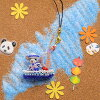Beads local rabbit ~ Yokohama x sailor's hen-2014 release / biscuit / Kit / motif / animals / rabbits / rabbit / local / strap / sewing / craft /