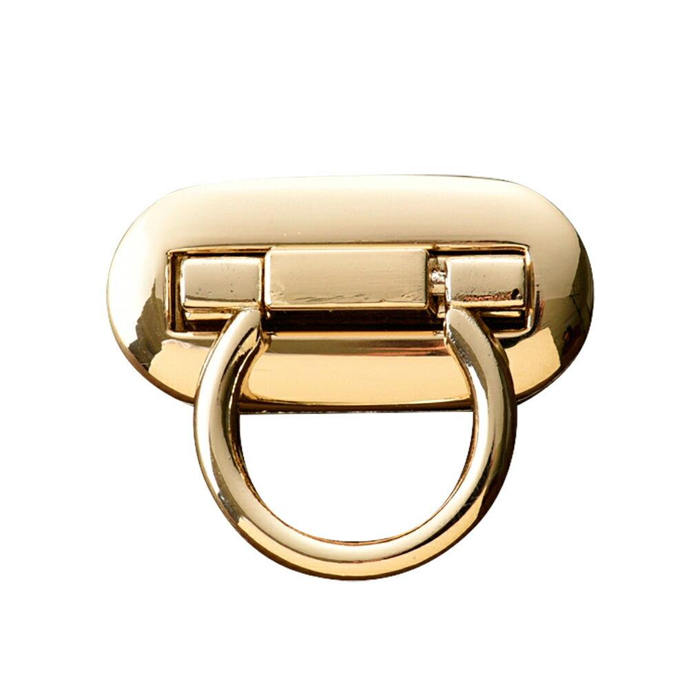 鞄金具 オコシ オーバル大 ゴールド アクセサリーパーツ