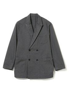 B:MING by BEAMS / 米綿 ダブル ジャケット B:MING by BEAMS ビームス アウトレット コート/ジャケット テーラードジャケット グレー ブラウン【送料無料】[Rakuten Fashion]