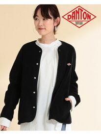 [Rakuten Fashion]DANTON / ノーカラー フリース ジャケット Ray BEAMS ビームス ウイメン コート/ジャケット ブルゾン【送料無料】