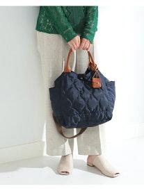 [Rakuten Fashion]toleur × Ray BEAMS / 別注 キルティング トートバッグ Ray BEAMS ビームス ウイメン バッグ バッグその他 ネイビー ベージュ【先行予約】*【送料無料】