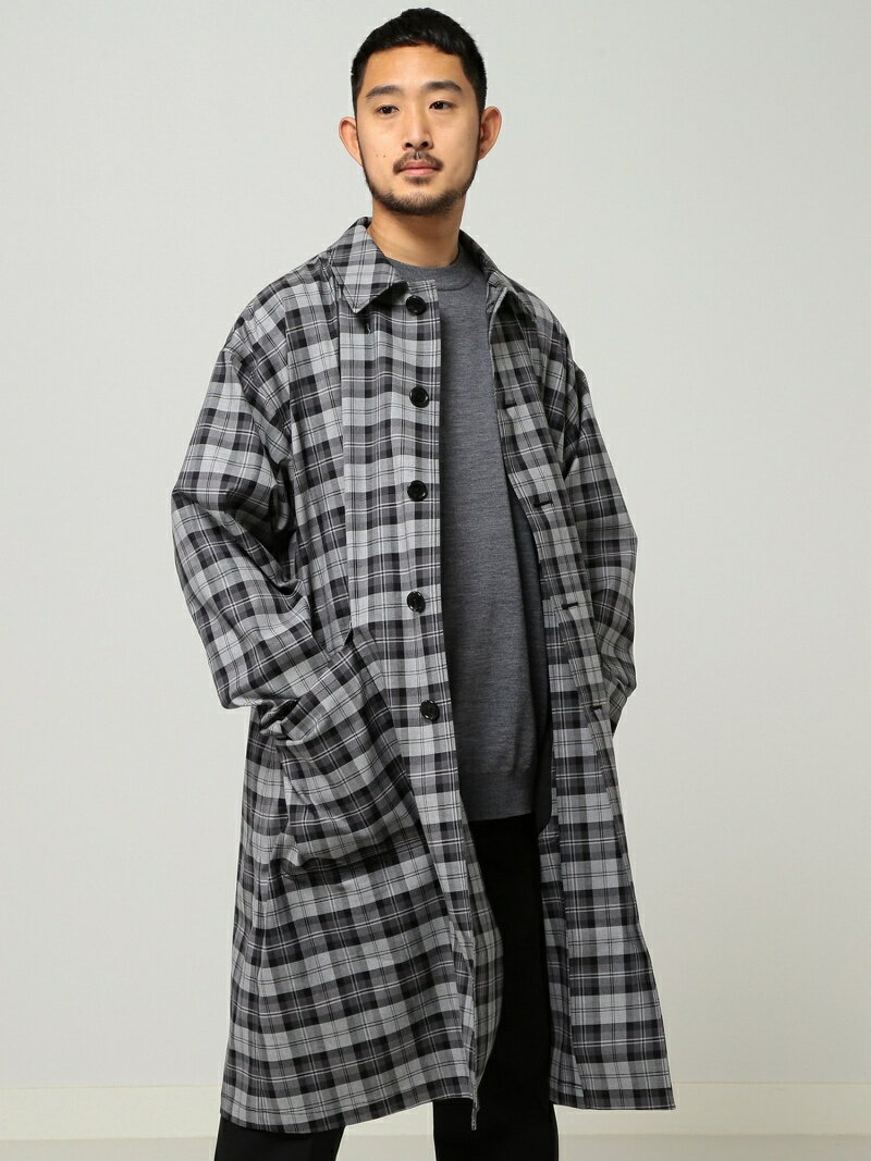 [Rakuten BRAND AVENUE]【SALE/40%OFF】O.TartanChk Coat BEAMS MEN ビームス メン コート/ジャケット【RBA_S】【RBA_E】【送料無料】