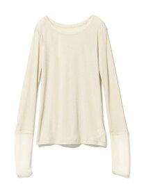 [Rakuten Fashion]【SALE/50%OFF】Ray BEAMS / ソフト テレコ カフス キリカエ Tシャツ Ray BEAMS ビームス ウイメン カットソー Tシャツ ホワイト ブラック ブラウン【RBA_E】