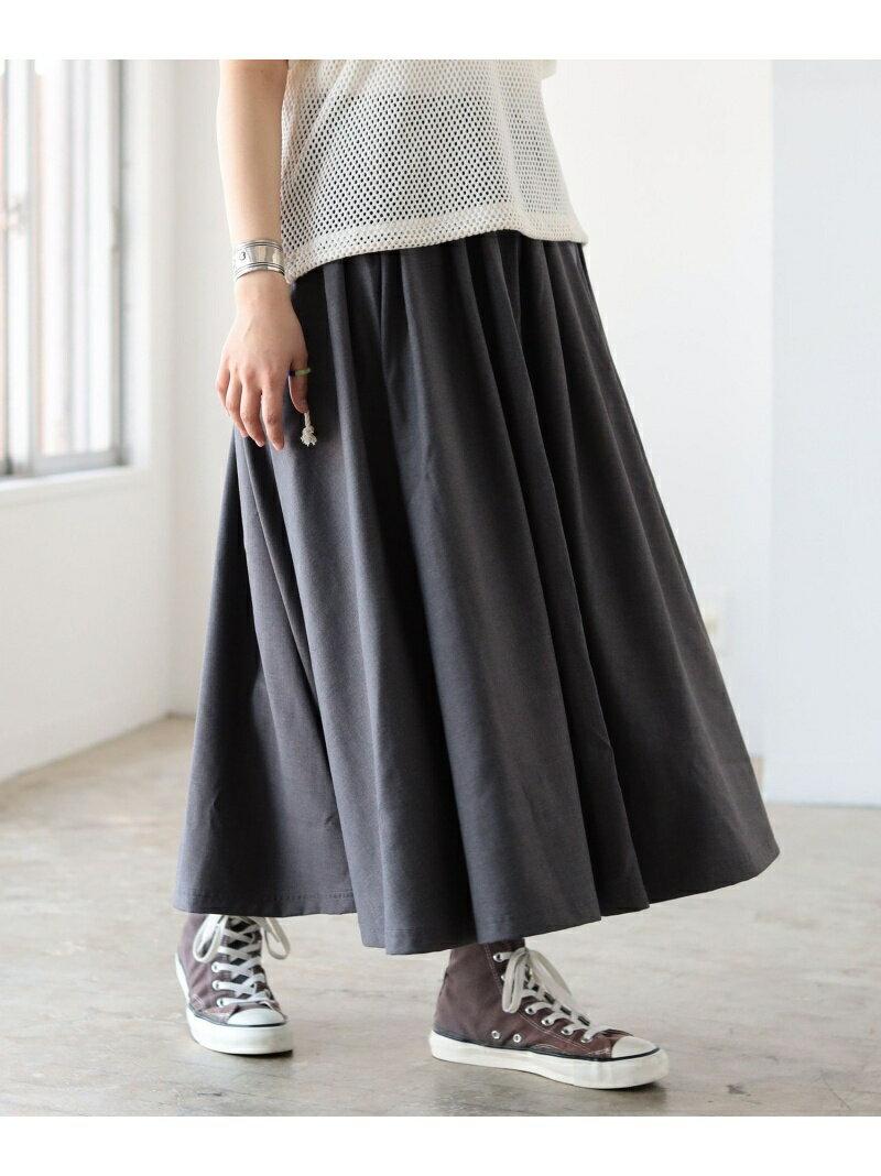[Rakuten BRAND AVENUE]GRAMICCI / 別注 ギャバ ロング スカート BEAMS BOY ビームス ウイメン スカート【送料無料】