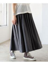[Rakuten Fashion]GRAMICCI / 別注 ギャバ ロング スカート BEAMS BOY ビームス ウイメン スカート ロングスカート ベージュ ネイビー【先行予約】*【送料無料】