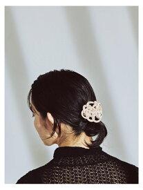 [Rakuten Fashion]RBS / 水引 レザー バレッタ Ray BEAMS ビームス ウイメン 帽子/ヘア小物 バレッタ/ヘアクリップ ベージュ ブラック【送料無料】