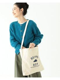 [Rakuten Fashion]【WEB限定】BEAMS BOY / BBロゴ 2WAY トートバッグ BEAMS BOY ビームス ウイメン バッグ トートバッグ ベージュ ネイビー【送料無料】