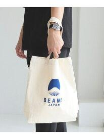 [Rakuten Fashion]evergreen works ×BEAMS JAPAN / 別注 ビームス ジャパン ロゴ トートバッグ BEAMS JAPAN ビームス ジャパン バッグ バッグその他 ブラック レッド