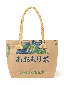 [Rakuten Fashion]Cul de Sac-JAPON / 別注 HIBA 青森米BAG ビームス ジャパン BEAMS JAPAN ビームス ジャパン バッグ トートバッグ ブラウン