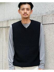 [Rakuten Fashion]【SALE/40%OFF】BEAMS / イージー ベスト BEAMS MEN ビームス メン コート/ジャケット ベスト ブラック ホワイト ネイビー【RBA_E】【送料無料】