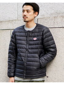 [Rakuten Fashion]DANTON / インナーダウン ジャケット BEAMS MEN ビームス メン コート/ジャケット ダウンジャケット ブラック カーキ【送料無料】
