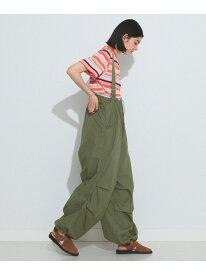 [Rakuten Fashion]BEAMS BOY / US ARMY オーバー パンツ BEAMS BOY ビームス ウイメン パンツ/ジーンズ サロペット/オールインワン カーキ ベージュ ネイビー【送料無料】