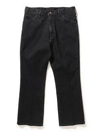[Rakuten Fashion]Wrangler × BEAMS / 別注 シューカット デニム パンツ BEAMS MEN ビームス メン パンツ/ジーンズ フルレングス ブラック ネイビー【送料無料】