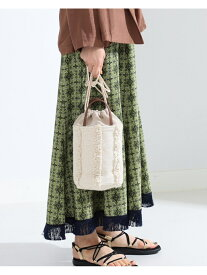 [Rakuten Fashion]【SALE/40%OFF】【WEB限定】Lilas Campbell / ミニ バッグ Ray BEAMS ビームス ウイメン バッグ ショルダーバッグ ホワイト イエロー【RBA_E】