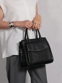 [Rakuten Fashion]FIORELLI / MIA フラップポケット ハンドバッグ BEAMS LIGHTS ビームスライツ バッグ ショルダーバッグ ブラック グレー【送料無料】