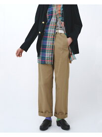 [Rakuten Fashion]BUZZ RICKSON'S × BEAMS BOY / チノパンツ BEAMS BOY ビームス ウイメン パンツ/ジーンズ フルレングス ベージュ【送料無料】