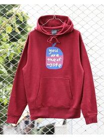 [Rakuten Fashion]【SALE/30%OFF】【SPECIAL PRICE】BEAMS T / Apple Hoodie BEAMS T ビームスT カットソー パーカー レッド ネイビー【RBA_E】【送料無料】