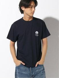 [Rakuten Fashion]BEAMS JAPAN / ビームス ジャパン ロゴ刺しゅう Tシャツ カラー BEAMS JAPAN ビームス ジャパン カットソー Tシャツ ネイビー レッド パープル ブラック【送料無料】