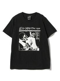 [Rakuten Fashion]【SPECIAL PRICE】BEAMS T / Ex-Youth Tee BEAMS T ビームスT カットソー Tシャツ ブラック ホワイト