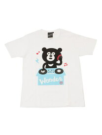 [Rakuten Fashion]【SPECIAL PRICE】BEAMS T / DJ Bear Tee BEAMS T ビームスT カットソー Tシャツ ホワイト グレー
