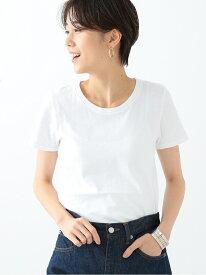 [Rakuten Fashion]Ray BEAMS / コットン 天竺 クルーネック T Ray BEAMS ビームス ウイメン カットソー Tシャツ ホワイト グレー ブラック【送料無料】