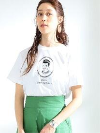 [Rakuten Fashion]NAIJEL GRAPH × Ray BEAMS / 別注 Wink Tシャツ Ray BEAMS ビームス ウイメン カットソー Tシャツ ホワイト【送料無料】