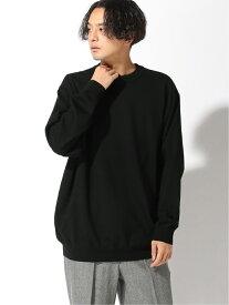 [Rakuten Fashion]BEAMS / 14ゲージ ワイド クルーネック ニット BEAMS MEN ビームス メン ニット 長袖ニット ブラック ブラウン グレー【送料無料】