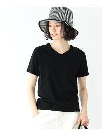 [Rakuten Fashion]HANES / POCKET V-NECK BEAMS BOY ビームス ウイメン カットソー Tシャツ ブラック ピンク ネイビー ホワイト【送料無料】