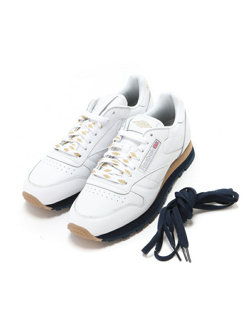 BEAMS MEN Reebok CLASSIC × CreativeDrugStore × BEAMS / 別注 Classic Leather ビームス メン【送料無料】