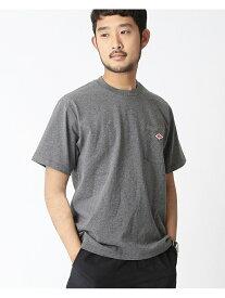 [Rakuten Fashion]DANTON / ロゴ ポケット Tシャツ BEAMS MEN ビームス メン カットソー Tシャツ グレー ブラック ネイビー ホワイト【送料無料】