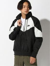 [Rakuten Fashion]【SALE/30%OFF】NIKE / ウィンドランナー フード ジャケット BEAMS MEN ビームス メン コート/ジャケット ブルゾン ブラック ネイビー【RBA_E】【送料無料】