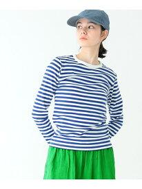 [Rakuten Fashion]BEAMS BOY / フライス 1cmボーダー Tシャツ ビームスボーイ ロンT BEAMS BOY ビームス ウイメン カットソー Tシャツ オレンジ ネイビー ブラック レッド【送料無料】