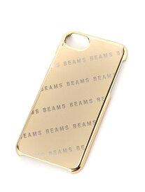 21601ea39e BEAMS MEN BEAMS / メッキ ロゴ iPhone8・7ケース ビームス メン ファッショングッズ