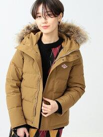 [Rakuten Fashion]DANTON / ファー付き ダウン ジャケット Ray BEAMS ビームス ウイメン コート/ジャケット ダウンジャケット ベージュ ブラック グレー ネイビー【送料無料】