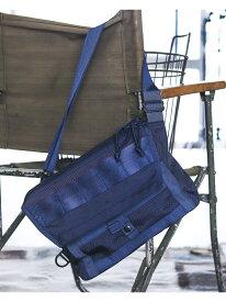 "[Rakuten BRAND AVENUE]BRIEFING × BEAMS PLUS / 別注 ""Fleet Messenger Bag"" NAVY ブリーフィング ビームス ビームス メン バッグ【送料無料】"