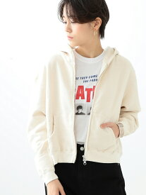 [Rakuten Fashion]Ray BEAMS High Basic / 裏毛 ジップ パーカ レイビームス Ray BEAMS ビームス ウイメン カットソー パーカー ホワイト ネイビー グレー【送料無料】