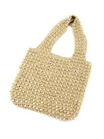 [Rakuten Fashion]【SALE/50%OFF】BALI WERKSTATTE / Wood Beads Bag Ray BEAMS ビームス ウイメン バッグ ハンドバッグ ベージュ ブラック【RBA_E】